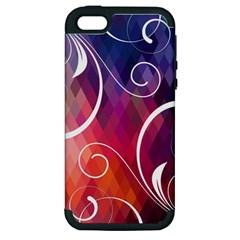 Brushes Chevron Apple Iphone 5 Hardshell Case (pc+silicone) by AnjaniArt