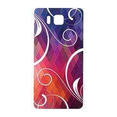 Brushes Chevron Samsung Galaxy Alpha Hardshell Back Case by AnjaniArt