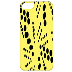 Circular Dot Selections Circle Yellow Apple Iphone 5 Classic Hardshell Case by AnjaniArt