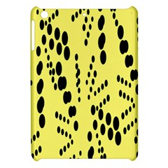 Circular Dot Selections Circle Yellow Apple Ipad Mini Hardshell Case by AnjaniArt