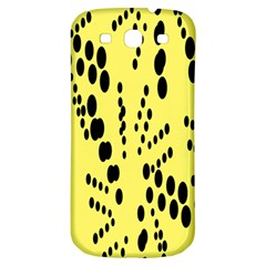 Circular Dot Selections Circle Yellow Samsung Galaxy S3 S Iii Classic Hardshell Back Case by AnjaniArt