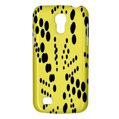 Circular Dot Selections Circle Yellow Galaxy S4 Mini by AnjaniArt