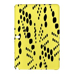 Circular Dot Selections Circle Yellow Samsung Galaxy Tab Pro 12 2 Hardshell Case by AnjaniArt