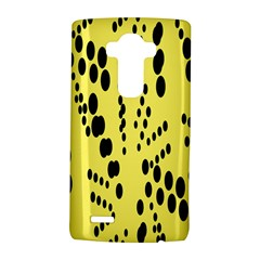 Circular Dot Selections Circle Yellow Lg G4 Hardshell Case by AnjaniArt