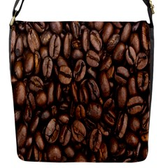 Coffee Beans Flap Messenger Bag (s) by AnjaniArt