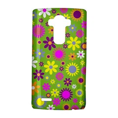 Colorful Floral Flower Lg G4 Hardshell Case by AnjaniArt