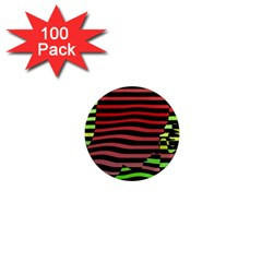 Face Palm Think 1  Mini Magnets (100 Pack)  by AnjaniArt