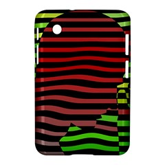 Face Palm Think Samsung Galaxy Tab 2 (7 ) P3100 Hardshell Case  by AnjaniArt