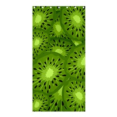 Fruit Kiwi Green Shower Curtain 36  X 72  (stall)  by AnjaniArt