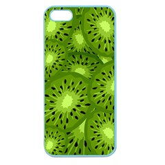 Fruit Kiwi Green Apple Seamless Iphone 5 Case (color) by AnjaniArt