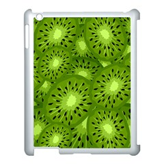 Fruit Kiwi Green Apple Ipad 3/4 Case (white) by AnjaniArt