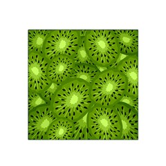 Fruit Kiwi Green Satin Bandana Scarf by AnjaniArt