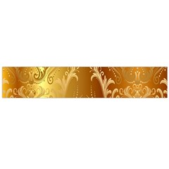 Golden Flower Vintage Gradient Resolution Flano Scarf (large) by AnjaniArt