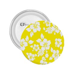 Hawaiian Flowers 2.25  Buttons by AnjaniArt