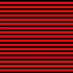 Horizontal Stripes Red Black Magic Photo Cubes by AnjaniArt