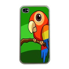 Parrots Pinterest Apple Iphone 4 Case (clear) by AnjaniArt