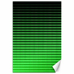 Neon Green Canvas 12  X 18   by AnjaniArt