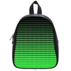 Neon Green School Bags (small)  by AnjaniArt