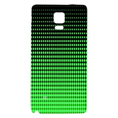 Neon Green Galaxy Note 4 Back Case by AnjaniArt