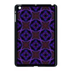 Background Colour Blue Flower Apple Ipad Mini Case (black) by AnjaniArt