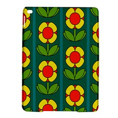 Retro Flowers Floral Rose Ipad Air 2 Hardshell Cases by AnjaniArt