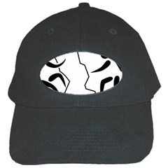 Mountaineering Climbing Pictogram  Black Cap by abbeyz71