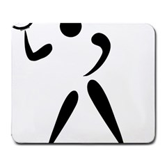 American Football Pictogram  Large Mousepads by abbeyz71