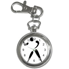 American Football Pictogram  Key Chain Watches by abbeyz71