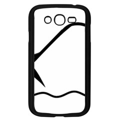 Angling Pictogram Samsung Galaxy Grand Duos I9082 Case (black) by abbeyz71