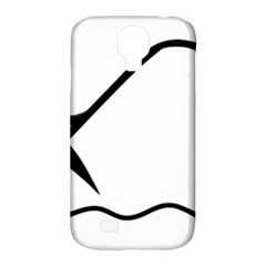Angling Pictogram Samsung Galaxy S4 Classic Hardshell Case (pc+silicone) by abbeyz71
