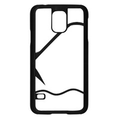 Angling Pictogram Samsung Galaxy S5 Case (black) by abbeyz71