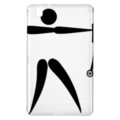 Archery (compound) Pictogram Samsung Galaxy Tab Pro 8 4 Hardshell Case by abbeyz71