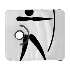 Archery Pictogram Galaxy S3 (flip/folio) by abbeyz71