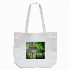 Butterfly #17 Tote Bag (white)