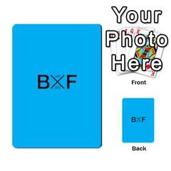 Backwards & Forwards By Devin Maddox   Multi Purpose Cards (rectangle)   1jcixoxc9poy   Www Artscow Com Back 1