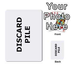 Backwards & Forwards By Devin Maddox   Multi Purpose Cards (rectangle)   1jcixoxc9poy   Www Artscow Com Front 52