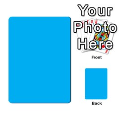 Backwards & Forwards By Devin Maddox   Multi Purpose Cards (rectangle)   1jcixoxc9poy   Www Artscow Com Back 54