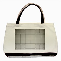 Abstract Architecture Contemporary Basic Tote Bag by Amaryn4rt