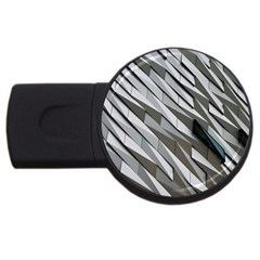Abstract Background Geometry Block Usb Flash Drive Round (2 Gb) by Amaryn4rt