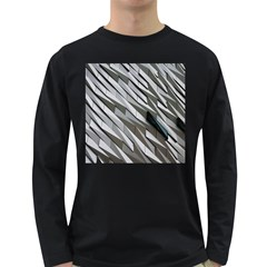 Abstract Background Geometry Block Long Sleeve Dark T Shirts by Amaryn4rt