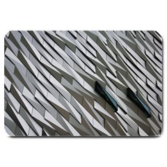 Abstract Background Geometry Block Large Doormat  by Amaryn4rt