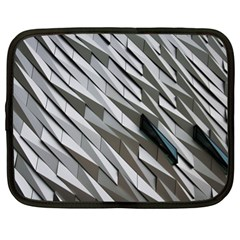 Abstract Background Geometry Block Netbook Case (xl)  by Amaryn4rt