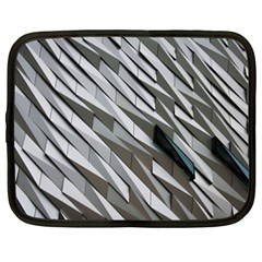 Abstract Background Geometry Block Netbook Case (xxl)  by Amaryn4rt
