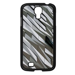 Abstract Background Geometry Block Samsung Galaxy S4 I9500/ I9505 Case (black)