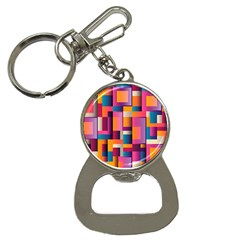 Abstract Background Geometry Blocks Button Necklaces by Amaryn4rt