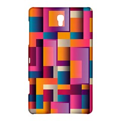 Abstract Background Geometry Blocks Samsung Galaxy Tab S (8 4 ) Hardshell Case  by Amaryn4rt