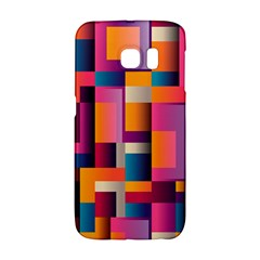 Abstract Background Geometry Blocks Galaxy S6 Edge