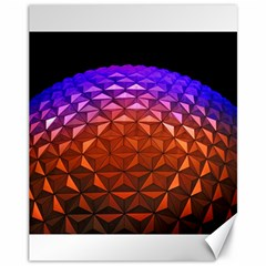 Abstract Ball Colorful Colors Canvas 11  X 14   by Amaryn4rt