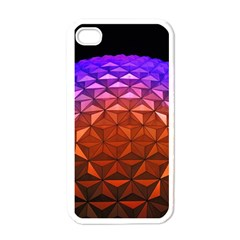 Abstract Ball Colorful Colors Apple Iphone 4 Case (white) by Amaryn4rt