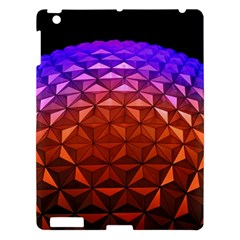 Abstract Ball Colorful Colors Apple Ipad 3/4 Hardshell Case